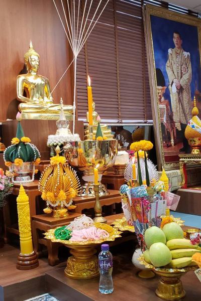 ร่วมปฎิบัติธรรมส่งท้ายปีเก่าวิถีไทยต้อนรับปีใหม่วิถีพุทธ ประจำปี 2562 ณ วัดพุทธารามฮ่องกง เขต San Po Kong เกาลูน ฮ่องกง