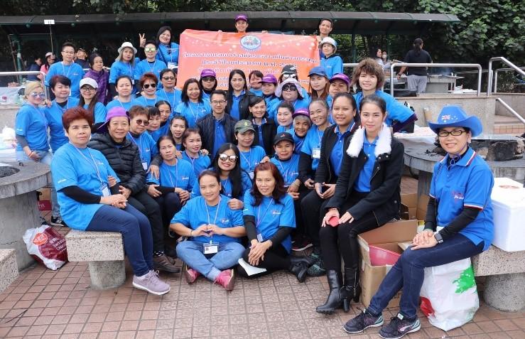 สำนักงานแรงงาน ณ เมืองฮ่องกง จัดโครงการอบรมอาสาสมัครแรงงาน ประจำปี 2562 ณ ชายหาด Gold Coast เขต นิวเทอริทอรื่