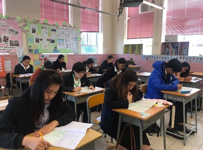 สำนักงานแรงงาน ณ เมืองฮ่องกง จัดสอบไล่นักศึกษามหาวิทยาลัยสุโขทัยธรรมาธิราช ภาคการศึกษาที่ 1 ปีการศึกษา 2562